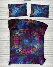 Tie Die Queen/King Cotton Bed Quilt/Doona/Duvet Cover Set New Bohemian Set168