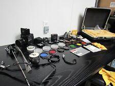 Kowa Super 66 SLR Medium Format Film Camera 85mm, Leather Strap Pistol Grip Nice