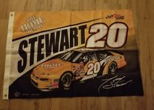 "Nascar Tony Stewart #20 Home Depot Joe Gibbs Racing 2002 Flag 29"" x 46"" New"