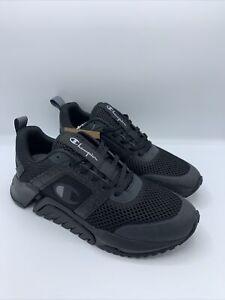 Champion Men's D1 Lite Casual Athletic Lifestyle Shoes Size 9 | CP101112M Black