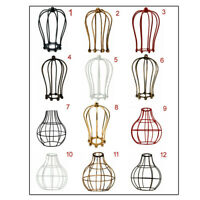 Ceiling Wire Cage Frame Lampshade Lighting Lounge Modern Pendant Retro Shades UK