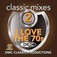 DMC Classic Mixes I Love The 70s Megamix Vol 2 Mixed Music DJ CD Seventies Music