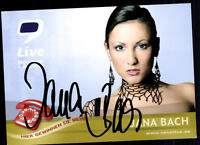 Jana Bach 9 Live Autogrammkarte Original Signiert ## BC 39323