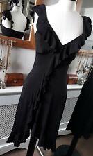 Jane Norman Black Sassy Summer Dress Size 10