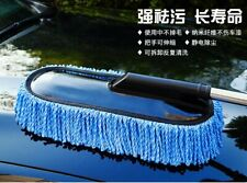 Car Wax Trailer Wash Brush Large Microfiber Telescoping Duster Cleaning Tool