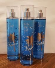 3 HAWAII COCONUT WATER & PINEAPPLE Mist Bath and Body Works Limited Edition RARE