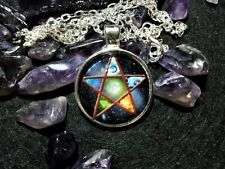 Pentacle Pendant,spiritual,pagan,wiccan,witchcraft,symbolic,unisex,protection