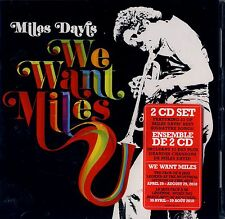 BRAND NEW 2CD SET // MILES DAVIS // WE WANT MILES // 23 TRACKS // SEE PHOTOS