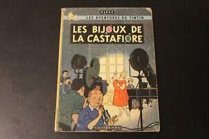 Tintin Les Bijoux de la Castafiore Première Edition EO belge B34 1963 Hergé