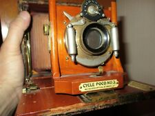 ANTIQUE CAMERA/CYCLE POCO NO.3/MERCANTILE TAG: STARK & WECKESSER, DAYTON OHIO