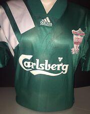 Signed Retro Liverpool Centenary Away Shirt Adidas by John Barnes (2)
