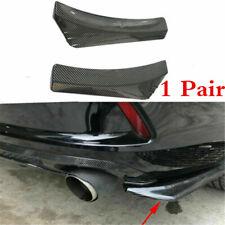 1 Pair Car Rear Bumper Lip Spoilers Diffuser Splitter Universal Anti-scratch