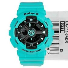 Casio Baby-G Womens Wrist Watch BA111-3A  BA-111-3ADR Neon Green New