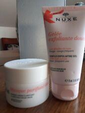 Nuxe lot de 2 / masque 50ml + exfoliant 75 ml toutes peaux