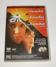 DVD - The Karate Kid #I, II & III - Ralph Macchio - Pat Morita - REDUCED!!
