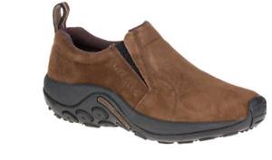 Merrell Jungle Moc Dark Earth Slip-On Shoe Loafer Men's US sizes 7-15 NIB!!!