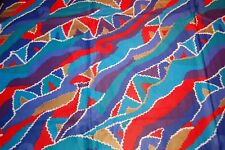 """Table Cloth 43' X 43"""" Multi Color patchwork pattern"""