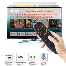G10 Voice Remote Control 2.4G Wireless Air Mouse For X96 mini TX3 mini T9 TV Box