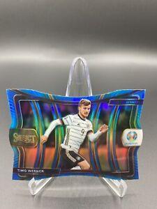 2020 Select Uefa Euro TIMO WERNER Germany Blue Prizm Die Cut Mezzanine  /175