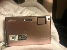 Nikon COOLPIX S60 10.0MP Digital Camera - Champagne pink
