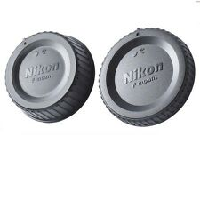 Nikon Camera Body Cover + Lens Rear Cap for Nikon D3400 D7100 D5600 D90 D750