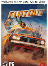 FlatOut PC Linux Game Windows XP Vista 7 8 10 Flat Out