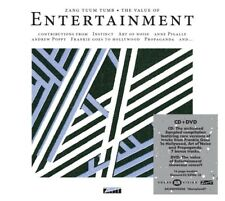 THE VALUE OF ENTERTAINMENT   CD + DVD NEUF