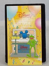 Disney Visa Card Chase 2014 Kermit The Frog Blue Balloon Trading Pin