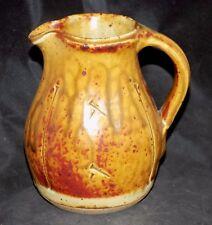Marked John Jelfs Cotswold Pottery Pitcher Warren MacKenzie Bernard Leach