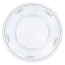 La Rochère  Libellules   Assiette présentation en verre Ø 32cm - Lot de 6