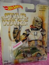 ➽STAR WARS DECO DELIVERY☆green; BOSSK☆Bounty Hunter💫2017 Hot Wheels Pop Culture