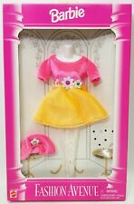 Barbie Fashion Avenue Collection 1995 Mattel #14980 Pink & Orange Dress NRFP