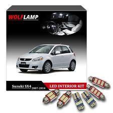 9x Super Bright White Bulbs LED Interior Kit Car Lights For 2007-2014 Suzuki SX4