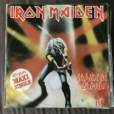IRON MAIDEN - MAIDEN JAPAN - 12'' MAXISINGLE EMI SPAIN 1982