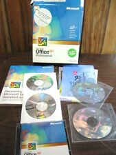 Microsoft Office XP Professional - Word, Excel, Outlook, Power Point, Access -S1