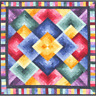 Flying Colors Quilt Pattern by Cozy Quilt Designs