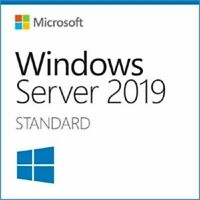 Microsoft Windows Server 2019 Key Standard COA Aukleber