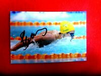 AUST SWIMMER BLAIR EVANS HAND SIGNED  6X4 PHOTO