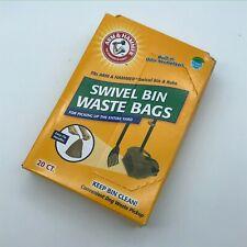 Arm & Hammer Swivel Bin Waste Bags 20 Count 1 Pack