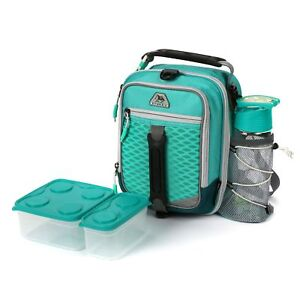 Arctic Zone Pro High Performance Dual Compartment Kids Lunch Box NWT School