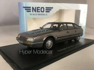 NEO SCALE MODELS 1/43 Citroen CX Gti Turbo 2 1986 Gry Met. ART. NEO45512