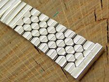 Stainless Steel NOS Vintage 19mm Kreisler Stelux Watch Band Expansion Unused