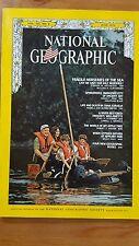 National Geographic Magazine June 1972 Fragile Nurseries of the Sea