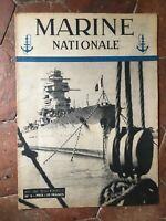 Marino Nacional Revista Mensual Ministerio de La Marino N º 6 Abril 1945