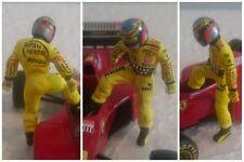 Jean ALESI Jordan Honda 2001 200th GP figurine pilote diorama 1/43 F1 figure