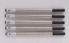 JINHAO 5pcs Black Refills Medium Nib Roller ball pens  New Free shipping