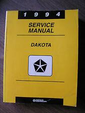 1994 Dodge Dakota Truck Service Manual 2 & 4 Wheel Drive  Free Shipping