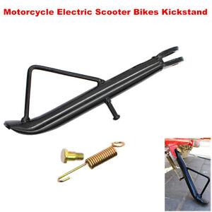 Motorcycle Electric Scooter Bikes Kickstand Side Stand Leg Prop Stable Universal