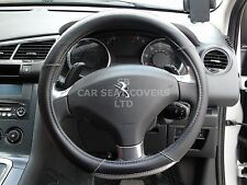 i -SUITABLE FOR PEUGEOT 106 CAR, STEERING WHEEL COVER, BLACK/GREY SWC 54 M