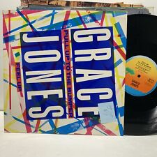 """Grace Jones Pull Up To The Bumper Island Records VG+-/VG+ 12"""" UK"""